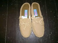 Brown suede moccasins slippers Middletown, 45042