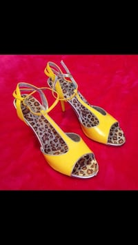New $80 Sexy Yellow heels
