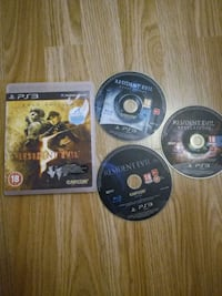 PS3 resident evil games Mansfield, NG19 6EJ