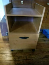 Side table with filling drawer Asheville