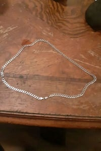 REAL silver necklace worth alot (u can check if its real) Oklahoma City, 73127