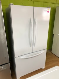 KitchenAid white French door refrigerator  Woodbridge, 22191