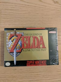 Legend of Zelda: A Link to the Past - Sealed Cambridge, 02139