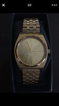 Gold adjustable Nixon Watch  Grand Terrace, 92313