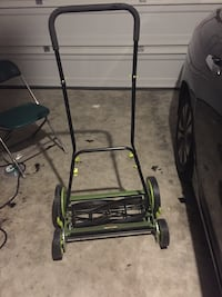 Sun joe push mower practically new Heartland, 75114