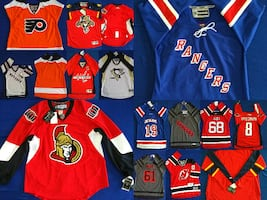 OVER 50% OFF!  - 9 National Hockey League (NHL) J