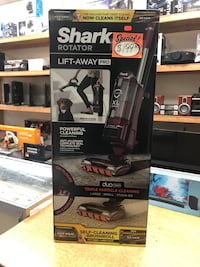Shark Rotator Lift-Away DuoClean Pro Brushroll Upright Vacuum (ZU780)
