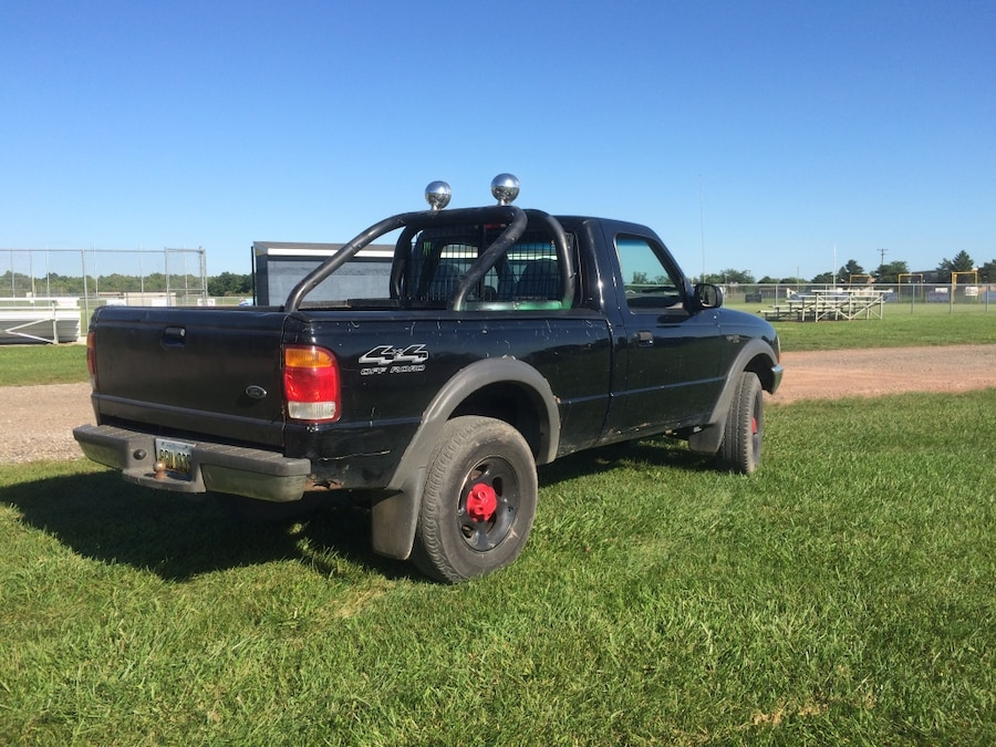 Used ford ranger or s10 roll bar with kc lights in owosso used ford ranger or s10 roll bar with kc lights in owosso troy brd ranger or s10 roll bar with kc lights aloadofball