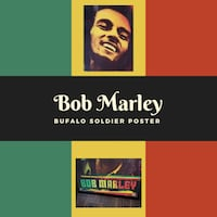 Bob Marley , Bufalo Soldier Poster . Port St. Lucie, 34953