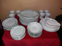 42 Piece 8 Place Setting China Garden Prestige