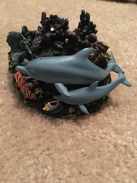 Dolphin candle holder by Christian Riese Lassen Stokesdale, 27357