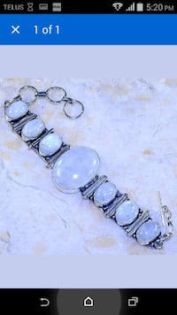 BEAUTIFUL MOONSTONE BRACELET---PENDING PICKUP--$15
