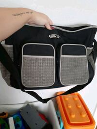grey black and white diaper bag Newport News, 23601