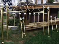 Queen size brass headboad and footboard SILVERSPRING