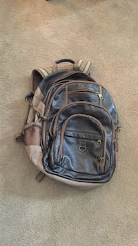 Wilson's brown leather backpack Des Moines, 50312