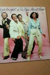 "Gladys Knight & the Pips ""About Love"" vinyl album La Plata, 20646"