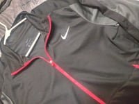 Nike Underarmour etc...hoodies and pull overs