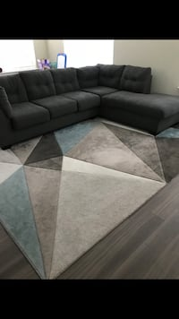 Grey Cloth Sectional From Marlo Hyattsville, 20782