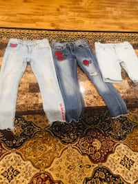 Two blue and white denim jeans Windsor, N9G 3C8