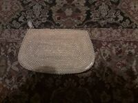 brown and white beaded zip pouch San Jacinto, 92582