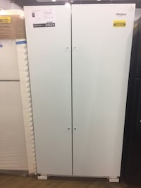"Whirlpool 36"" side by side refrigerator White Lake, 48383"