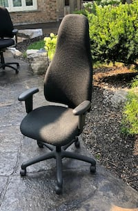 The famous Obusforme ergonomic office chair, serviced and everything works, back height arms seat depth, multi tilt lock and tension adjustment. Sells for $700 online new. Asking $200. Milton