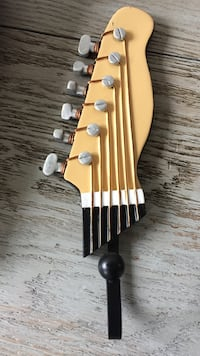 yellow and black guitar headstock decoration Boone, 28607