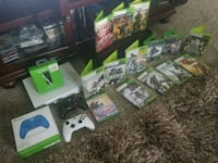 assorted-title Xbox 360 game case lot Springfield