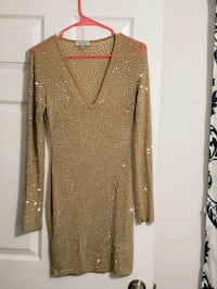 women's brown long-sleeved dress Silver Spring, 20902