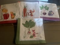Brand New! Set of 4 Disney Napkins