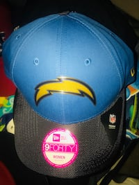 black and blue fitted cap San Diego, 92101