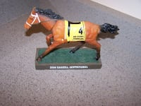 BIG BROWN MONMOUTH horese bobblehead - RARE Vaughan