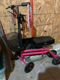 Mobility scooter for injured leg/foot West Fargo, 58078