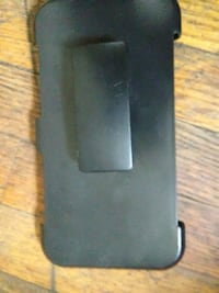 black and gray smartphone case