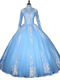 Brand new light blue gown ,comes with hair and purse,scroll down to view more of this dress Brampton, L6V 3X9