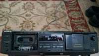 Sony tape deck  Hoover