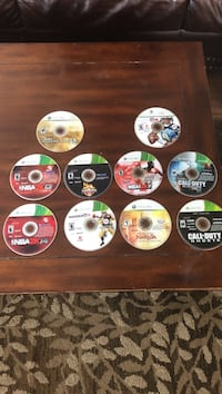 10 Assorted xbox 360 game discs Soldotna, 99669