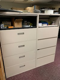 Steelcase 5 drawer lateral files