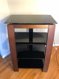 Wood-Glass , TV , sound system Stand