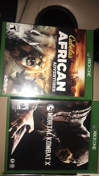 two Xbox One game cases Riceville, 37370