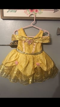 women's yellow and brown dress Grand Terrace, 92313