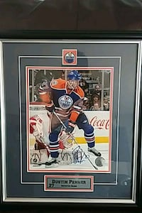 Custom framed and hand signed Surrey, V3S 5C5