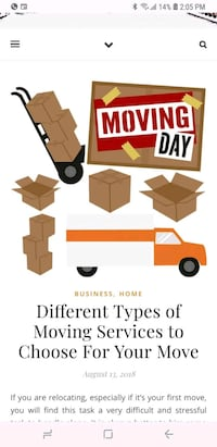 moving small items in the GTA Toronto, M6M 4Y2