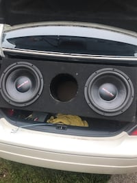 black and gray subwoofer speaker Tallahassee, 32303