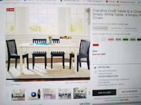 Kids craft table with 6 chairs Shorewood, 60404