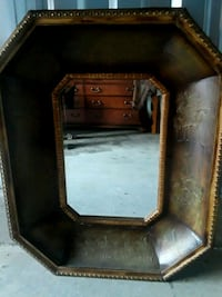 brown wooden framed wall mirror Bridgeport, 26330