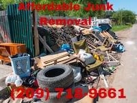 Junk removal  Merced, 95341