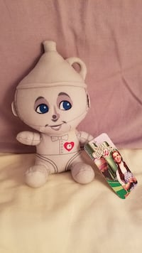 Wizard of Oz Tin Man Plush Collectible With Tags