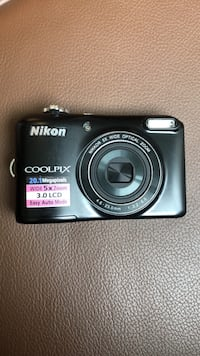 black Nikon Coolpix point-and-shoot camera Bethesda, 20814