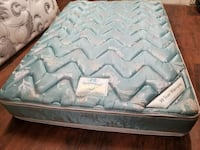 Double mattress 100$ box spring 40$. Delivery 40$
